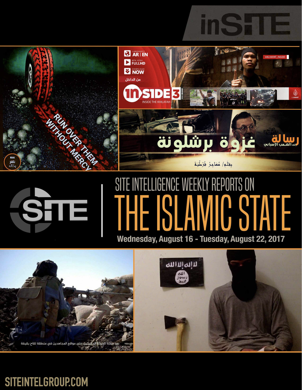 Weekly inSITE on the Islamic State, August 16-22