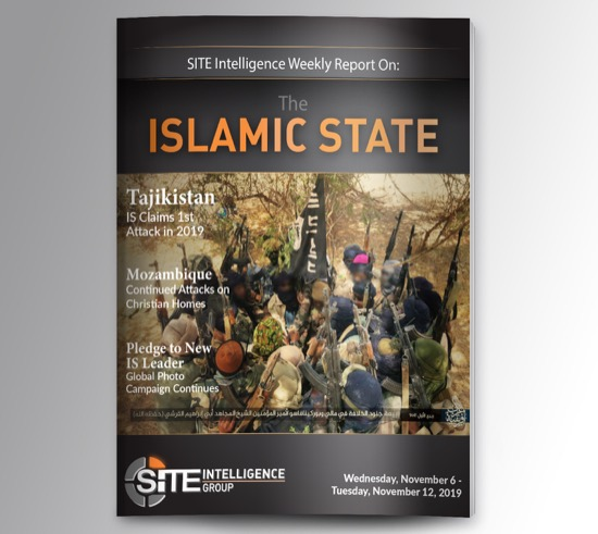 Weekly inSITE on the Islamic State for November 6-12, 2019