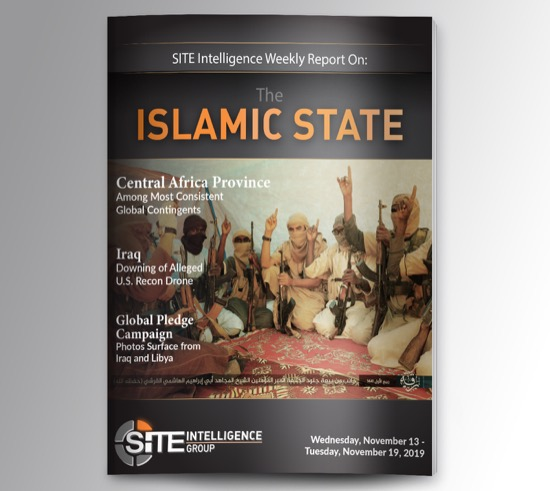 Weekly inSITE on the Islamic State for November 13-19, 2019