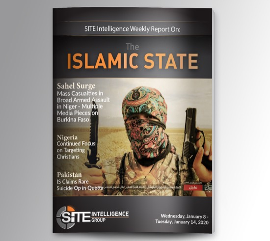 Weekly inSITE on the Islamic State for January 8-14, 2020