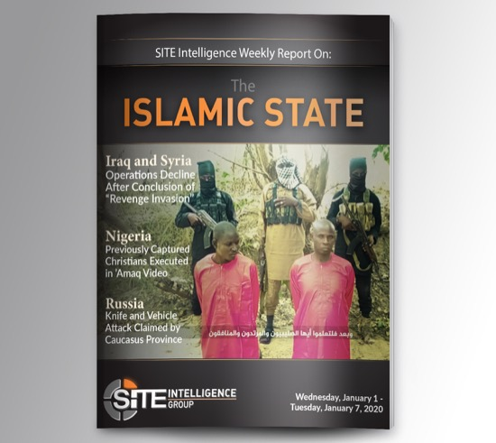 Weekly inSITE on the Islamic State for January 1-7, 2020