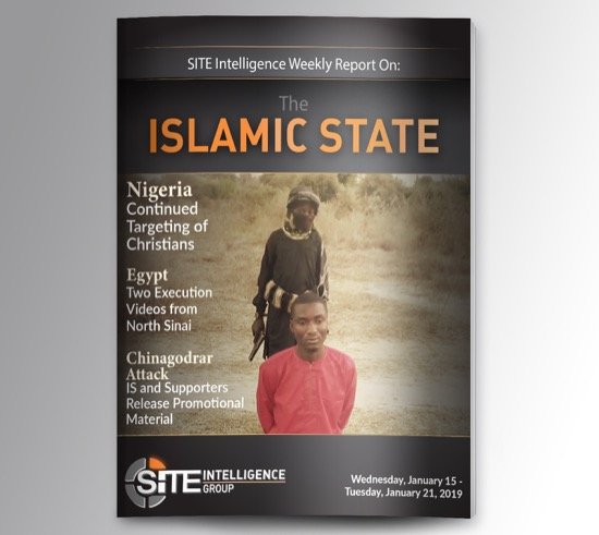 Weekly inSITE on the Islamic State for January 15-21, 2020