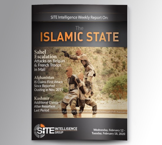 Weekly inSITE on the Islamic State for February 12-18, 2020