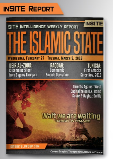 Weekly inSITE on the Islamic State for February 27-March 5, 2019