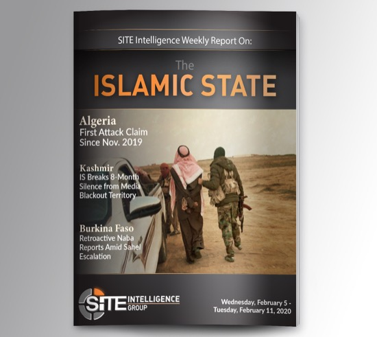 Weekly inSITE on the Islamic State for February 5-11, 2020