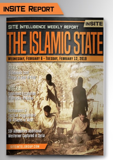 Weekly inSITE on the Islamic State for February 6-12, 2019