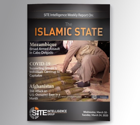 Weekly inSITE on the Islamic State for March 18-24, 2020