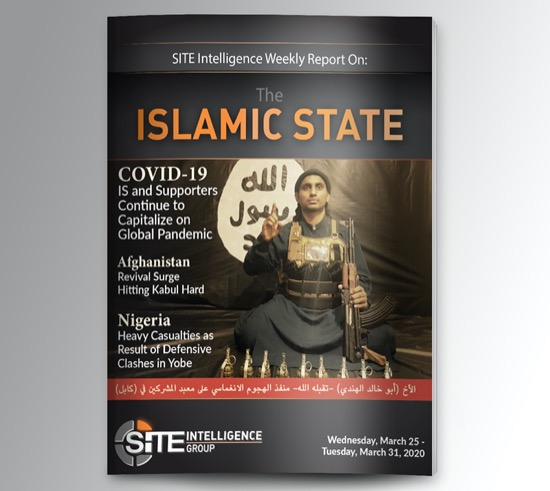 Weekly inSITE on the Islamic State for March 25-31, 2020