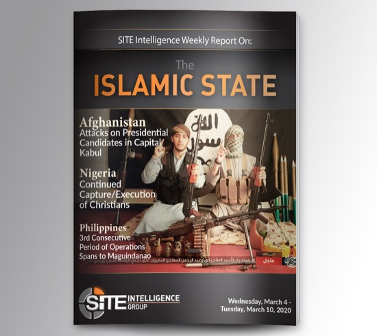 Weekly inSITE on the Islamic State for March 4-10, 2020
