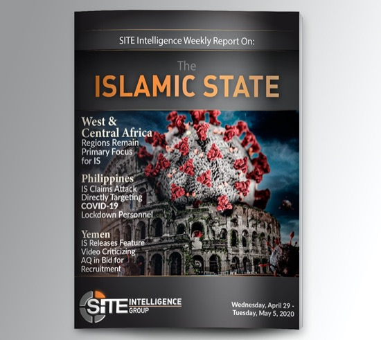 Weekly inSITE on the Islamic State for April 29-May 5, 2020
