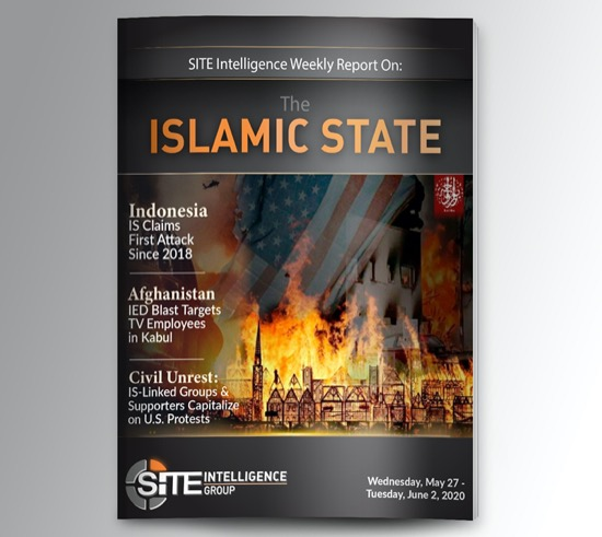 Weekly inSITE on the Islamic State for May 27-June 2, 2020