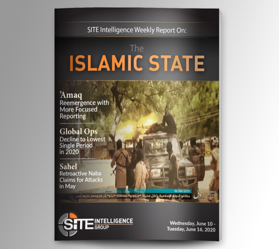 Weekly inSITE on the Islamic State for June 10-16, 2020