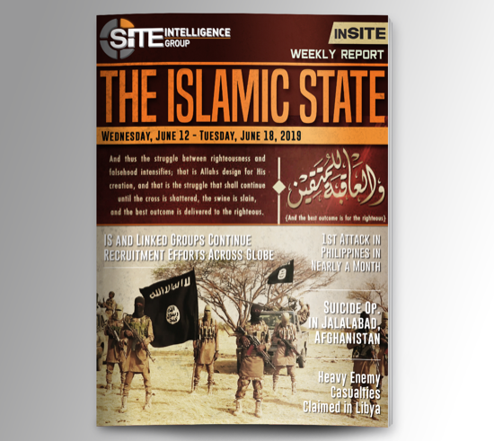 Weekly inSITE on the Islamic State for June 12-18