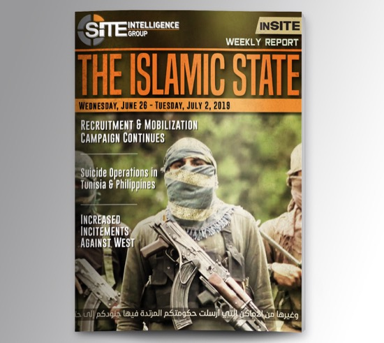 Weekly inSITE on the Islamic State for June 26-July 2, 2019
