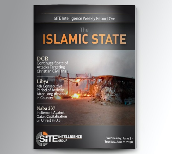Weekly inSITE on the Islamic State for June 3-9, 2020