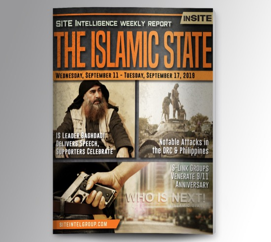 Weekly inSITE on the Islamic State for September 11-17, 2019