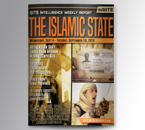 Weekly inSITE on the Islamic State for September 4-10, 2019