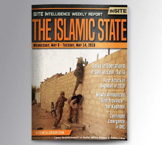 Weekly inSITE on the Islamic State for May 8-14, 2019