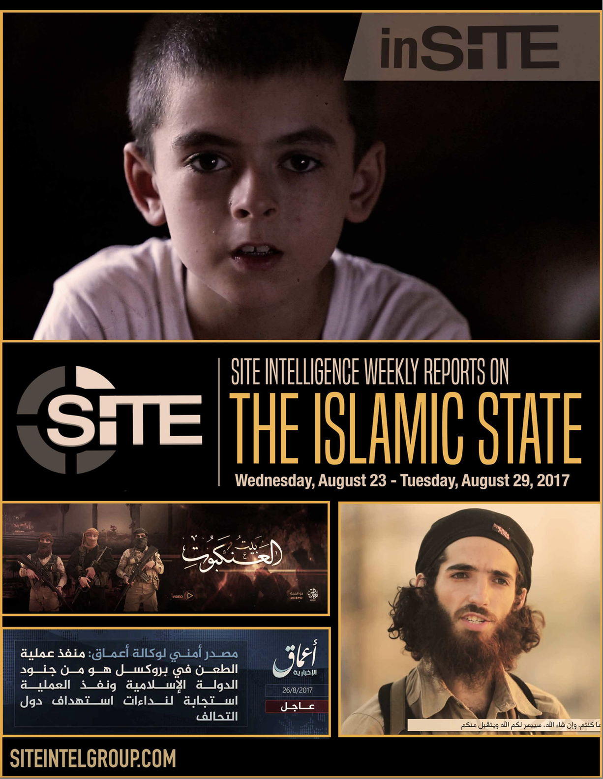 Weekly inSITE on the Islamic State, August 23-29 2017