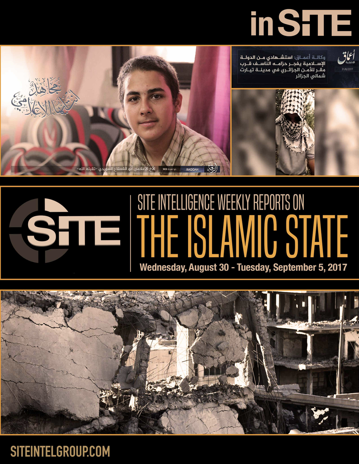 Weekly inSITE on the Islamic State, August 30-September 5