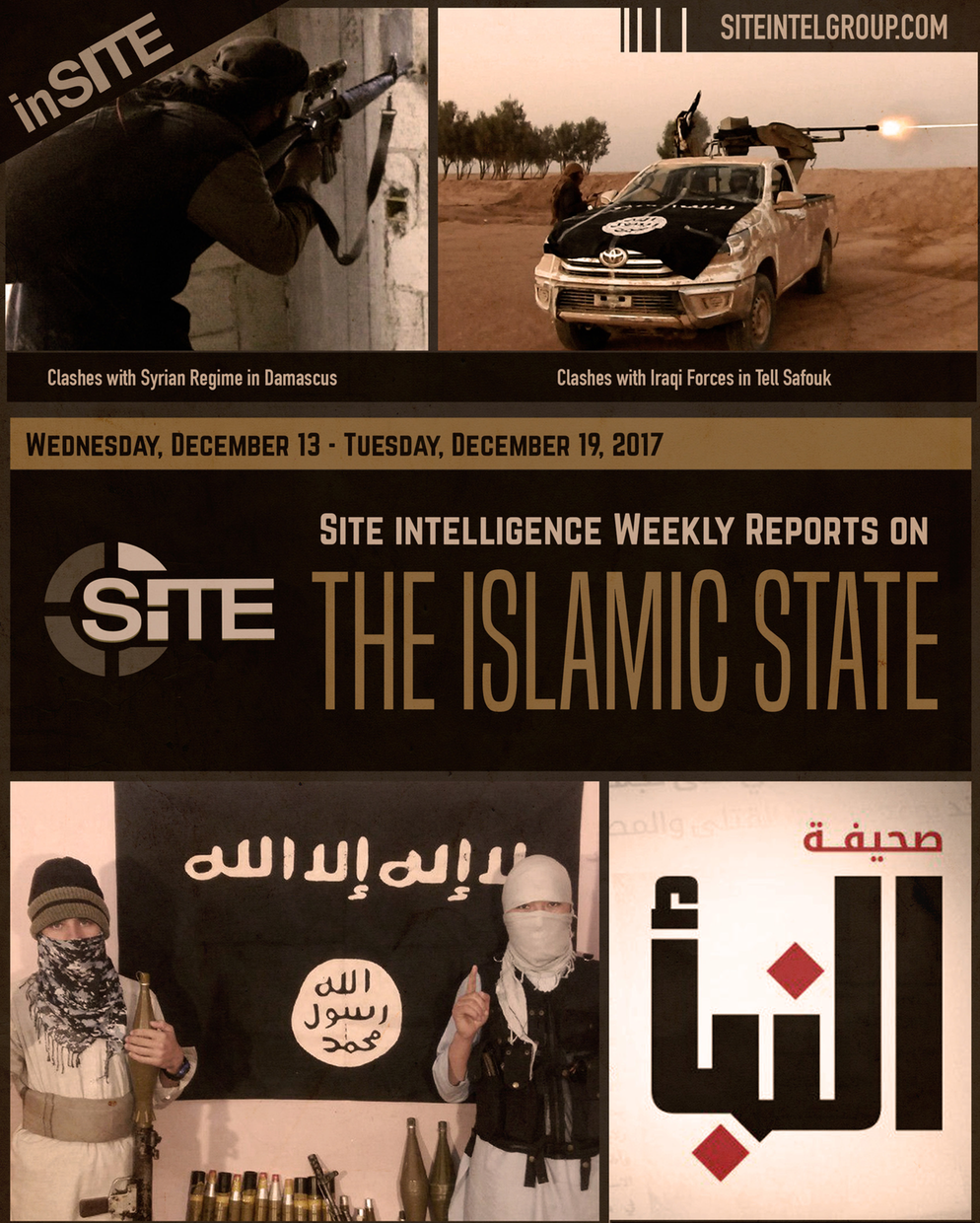 Weekly inSITE on the Islamic State, December 13-19