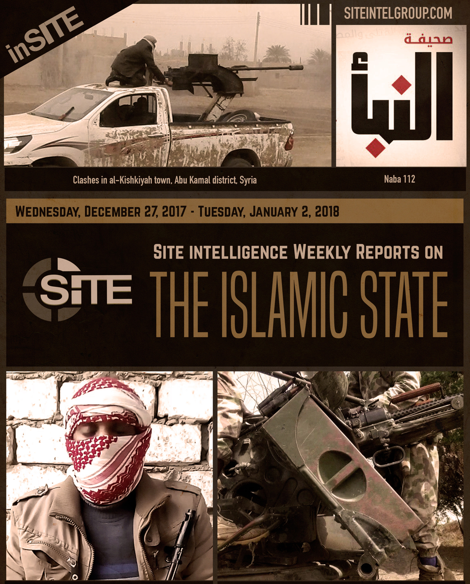 Weekly inSITE on the Islamic State, December 27-January 2