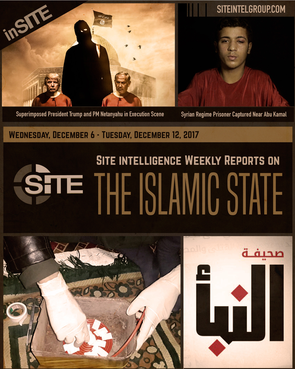 Weekly inSITE on the Islamic State, December 6-12