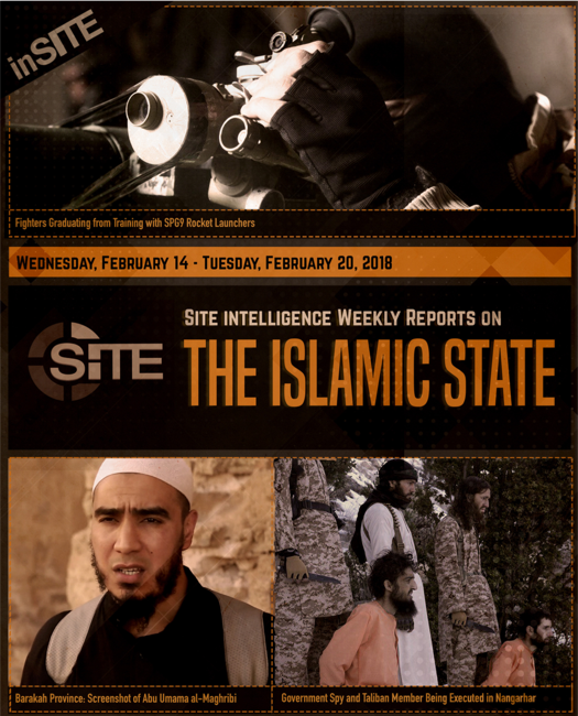 Weekly inSITE on the Islamic State, February 14-20, 2018