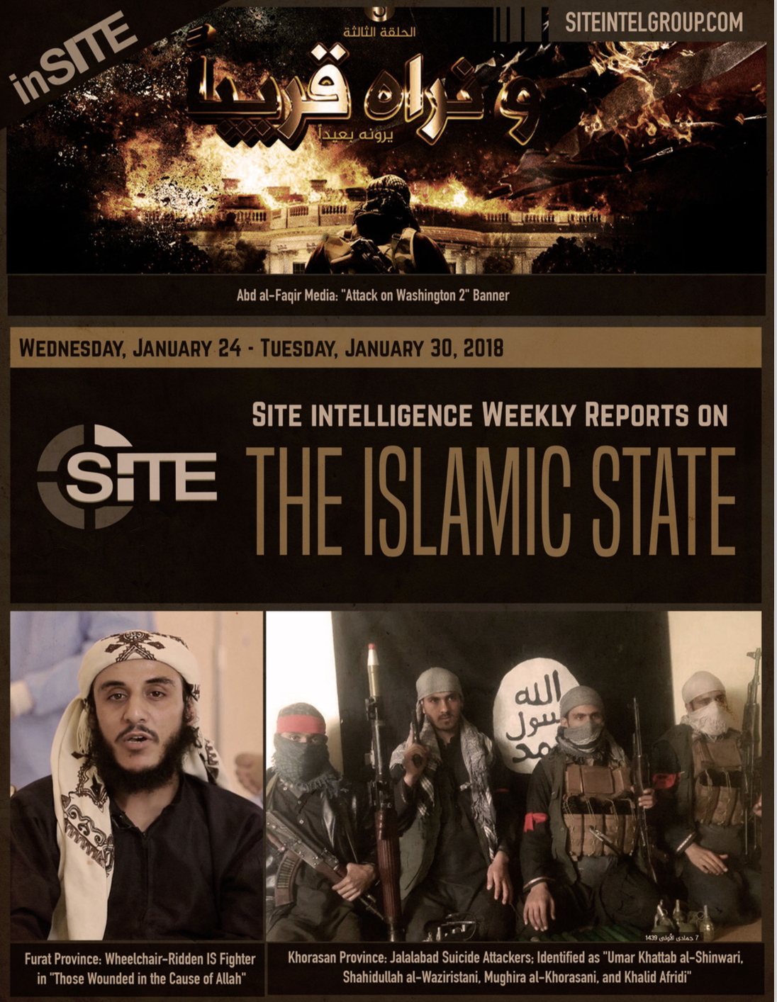 Weekly inSITE on the Islamic State, January 24-30, 2018