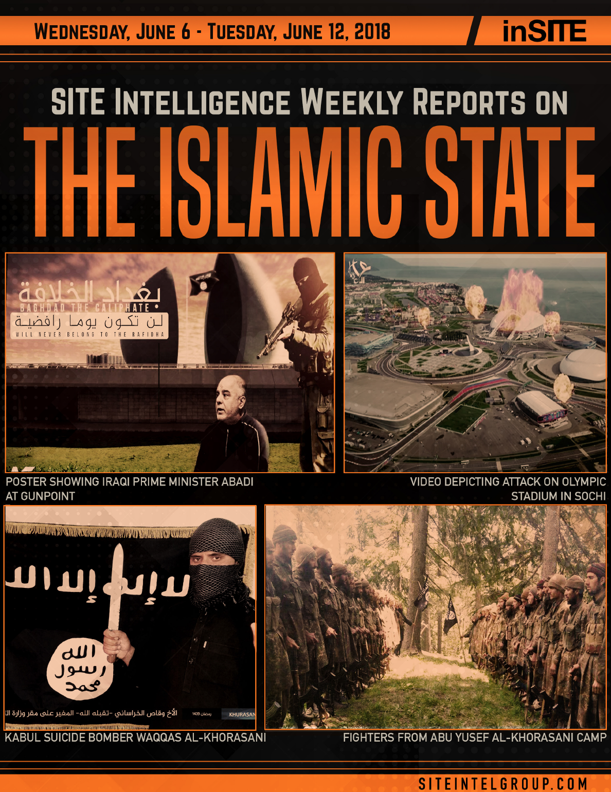 Weekly inSITE on the Islamic State for June 6-12, 2018