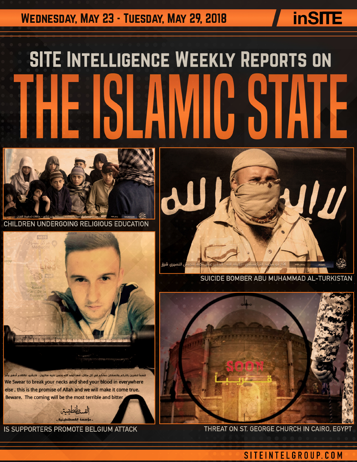 Weekly inSITE on the Islamic State for May 23-29, 2018