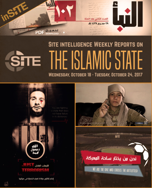 Weekly inSITE on the Islamic State, October 18-24