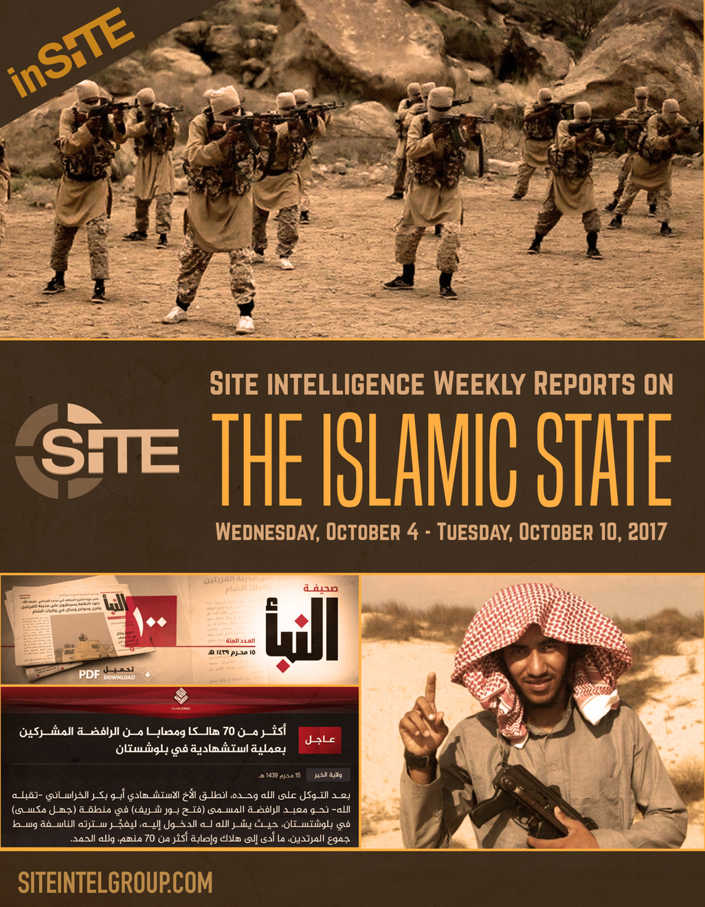 Weekly inSITE on the Islamic State, October 4 -10
