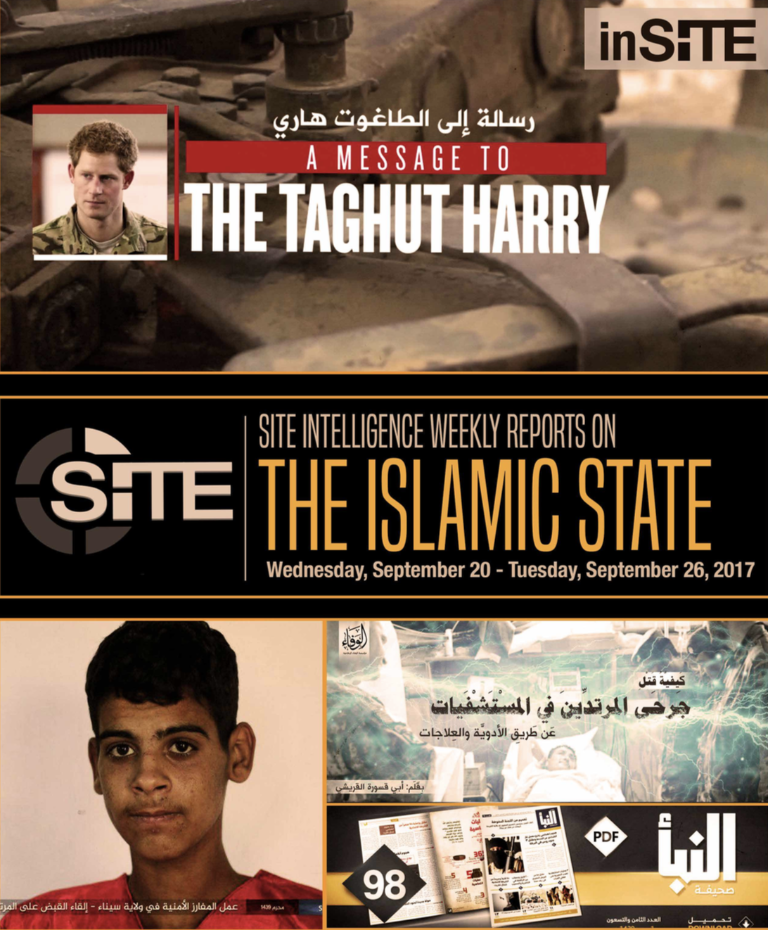 Weekly inSITE on the Islamic State, September 20-26