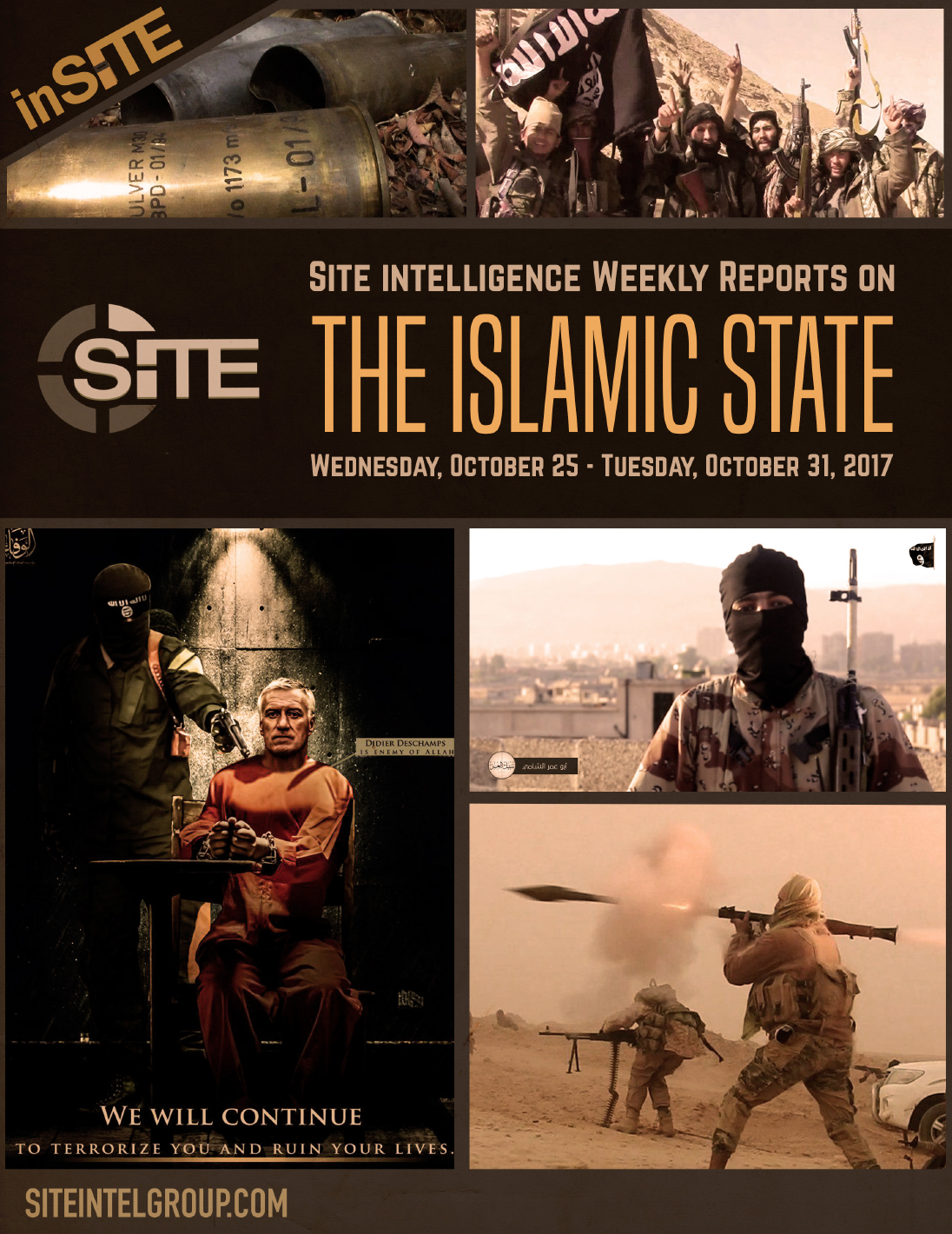 Weekly inSITE on the Islamic State, October 25-31