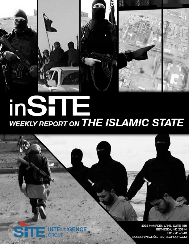 Weekly inSITE on the Islamic State, Jan 13 - Jan 19, 2016