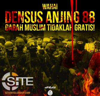 Following Further Arrests by Densus 88, Indonesian IS Supporters Call for Retaliatory Attack