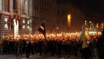 "White Supremacists Laud Supposed Thousands that Attended ""Nationalist"" March in Riga, Latvia"