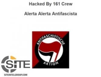 Anarchists Claim Hacking Website of Swedish Security Firm