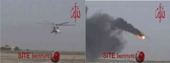 The Mujahideen Army Releases Additional Video Footage of Helicopter Attack