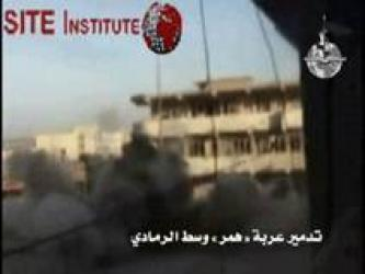 Al-Qaeda in Iraq Issues Three Videos Depicting the Destruction of American Vehicles in al-Ramadi and Southern Baghdad