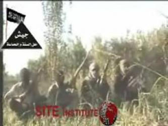 The Army of al-Sunnah Wal Jama'a Issues a Video Depicting Snipers Firing Upon American Trucks on the Ishaqi Road