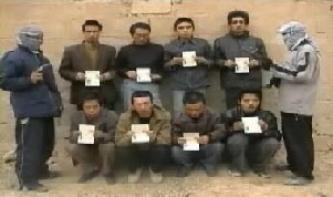 Video Statement by al-Nuhman Brigades, Captors of Eight Chinese Men in Iraq