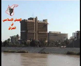 The Islamic Army of Iraq launches RPG attack at the Emilia Al Mansour Hotel with video