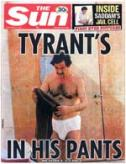 Reactions of Jihadist Message Board Members  to Photograph of Saddam Hussein in His Undergarments