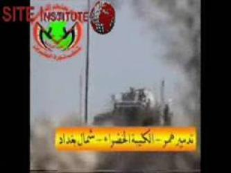 The Twentieth Revolution Brigades Issues a Video Depicting the Bombing of an American Humvee North of Baghdad