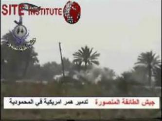 The Victorious Army Group Issues Videos Depicting Bombing of American Humvees in al-Mahmoudiya and Baghdad-Samarra Road