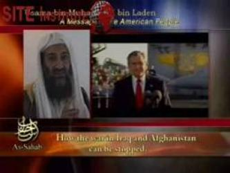 Complete Video of the Most Recent Usama bin Laden Speech Produced by al-Sahab