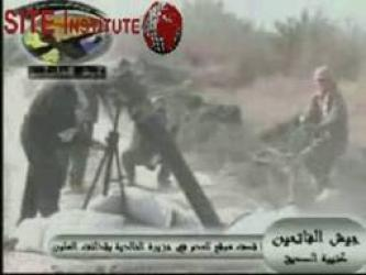 The Conquering Army in Iraq Issues Two Videos of Launching Mortars at American Barracks in al-Khalidiya and Detonating an IED on an American Armored Vehicle in Hassibah