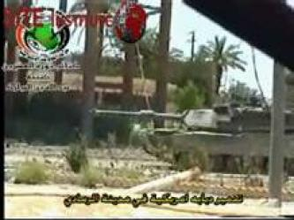 The Twentieth Revolution Brigades Issues Two Videos of Bombing American Vehicles in al-Ramadi in Support of the Mujahideen in Lebanon and Palestine